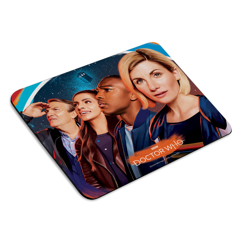 Thirteenth Doctor Group Mousemat