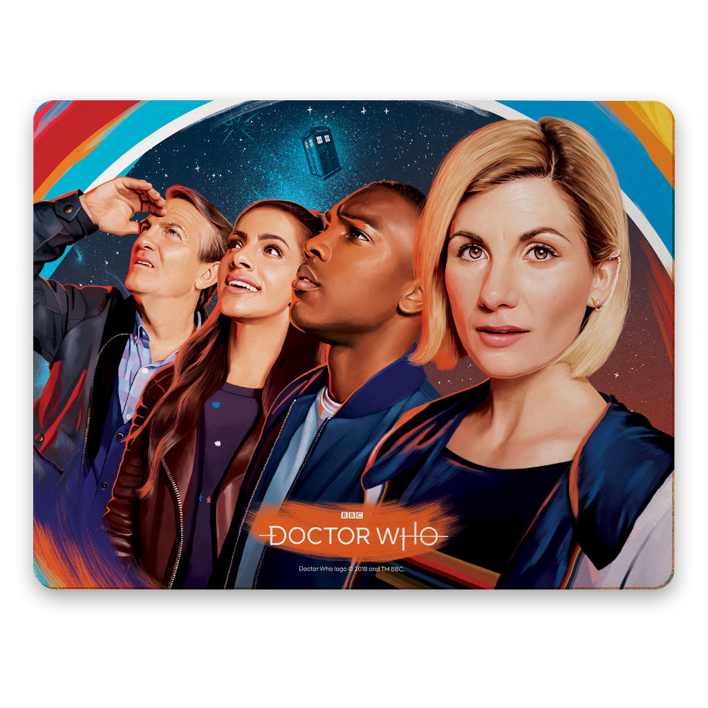 Thirteenth Doctor Group Placemat