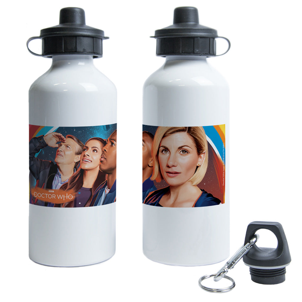 Thirteenth Doctor Group Water Bottle