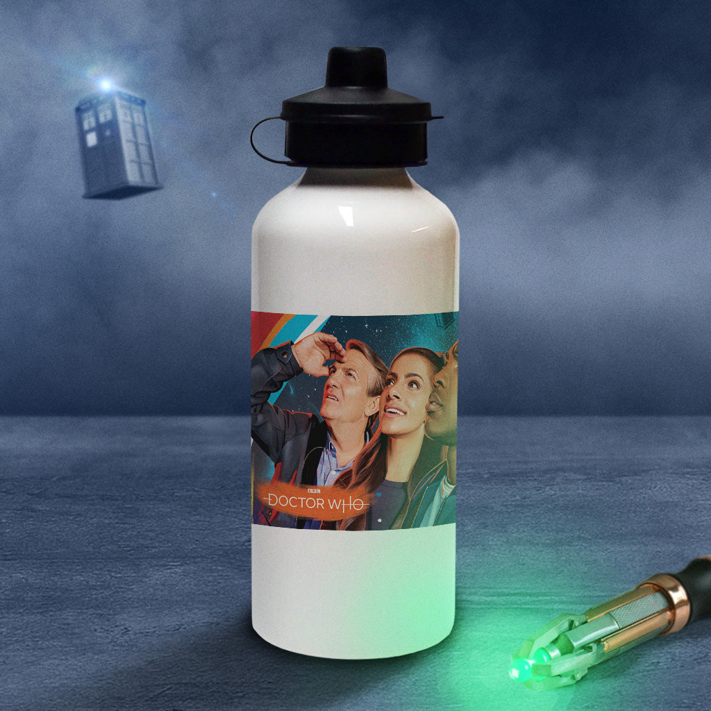 Thirteenth Doctor Group Water Bottle (Lifestyle)