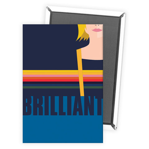 Thirteenth Doctor Brilliant Magnet