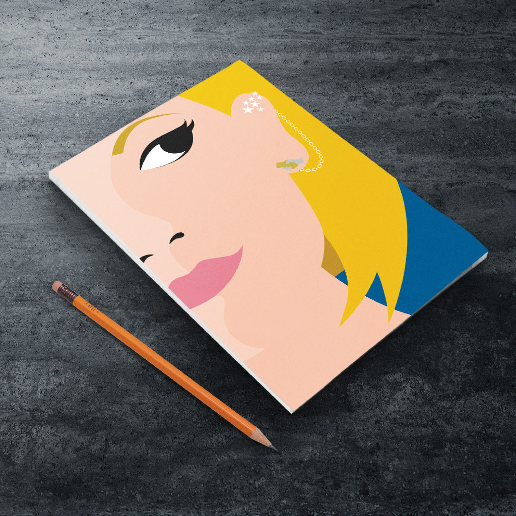 Thirteenth Doctor Face A5 Notepad (Lifestyle)