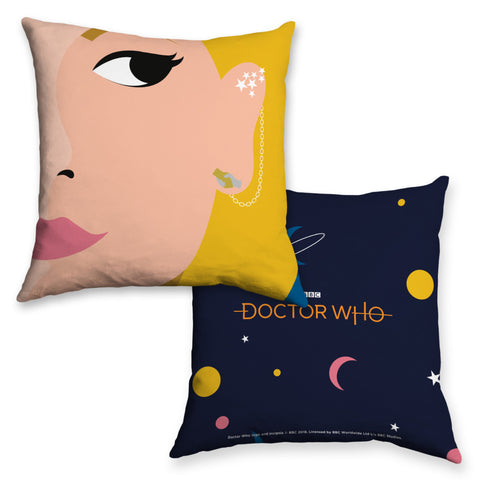 Thirteenth Doctor Face Cushion