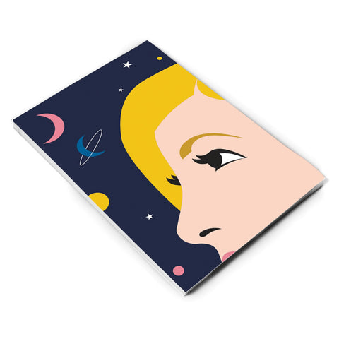 Thirteenth Doctor Space A5 Notepad