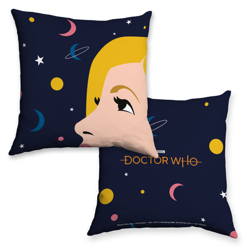 Thirteenth Doctor Space Cushion