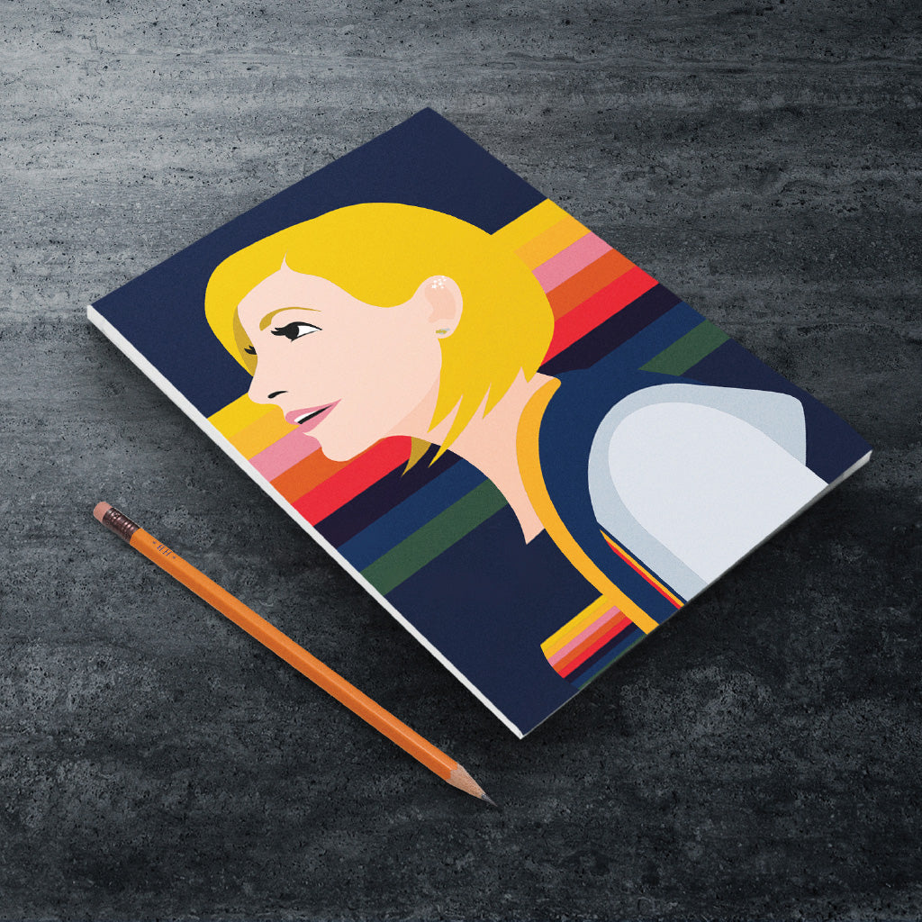 Thirteenth Doctor Rainbow A5 Notepad (Lifestyle)