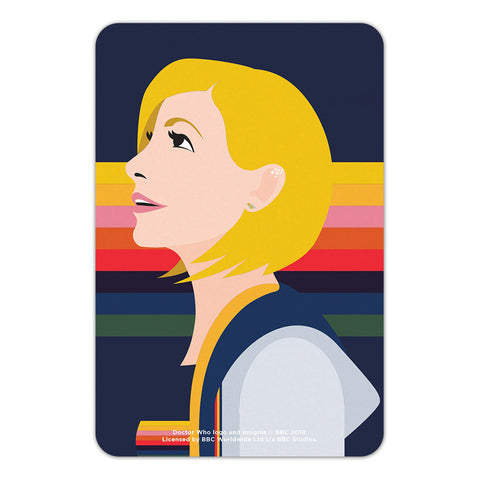Thirteenth Doctor Rainbow Door Plaque