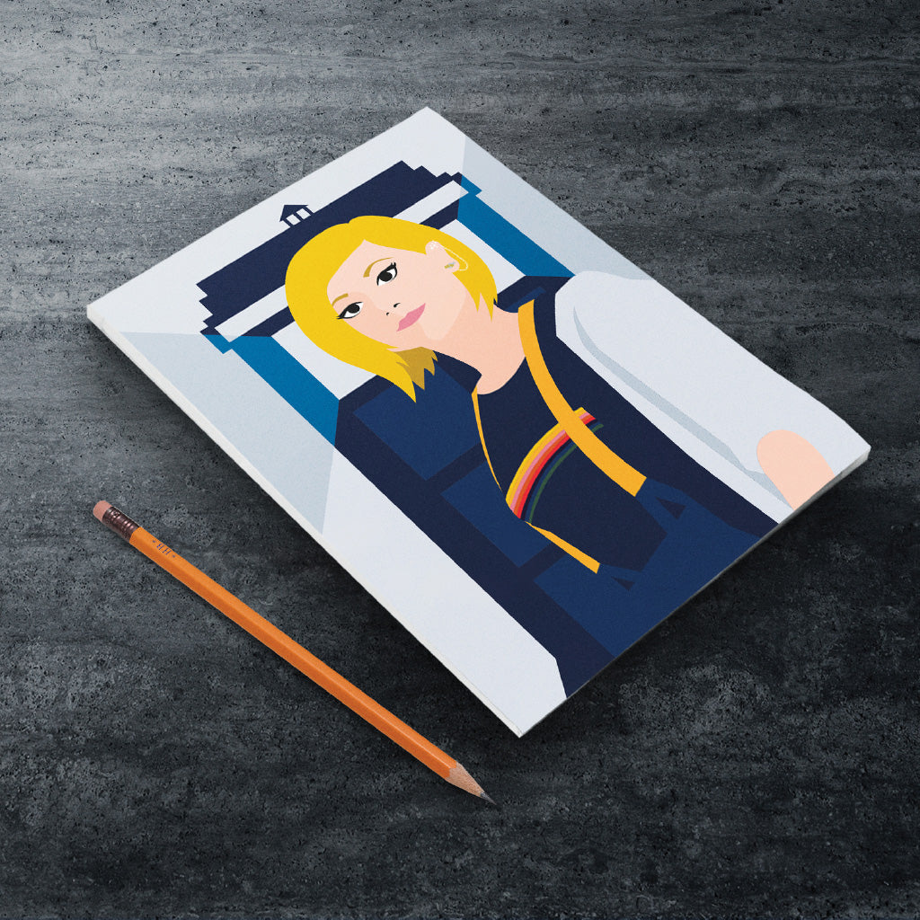 Thirteenth Doctor Tardis A5 Notepad (Lifestyle)