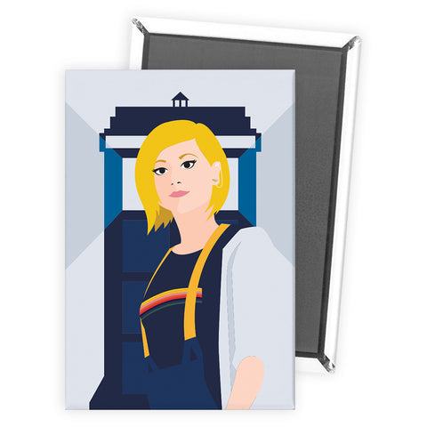 Thirteenth Doctor Tardis Magnet