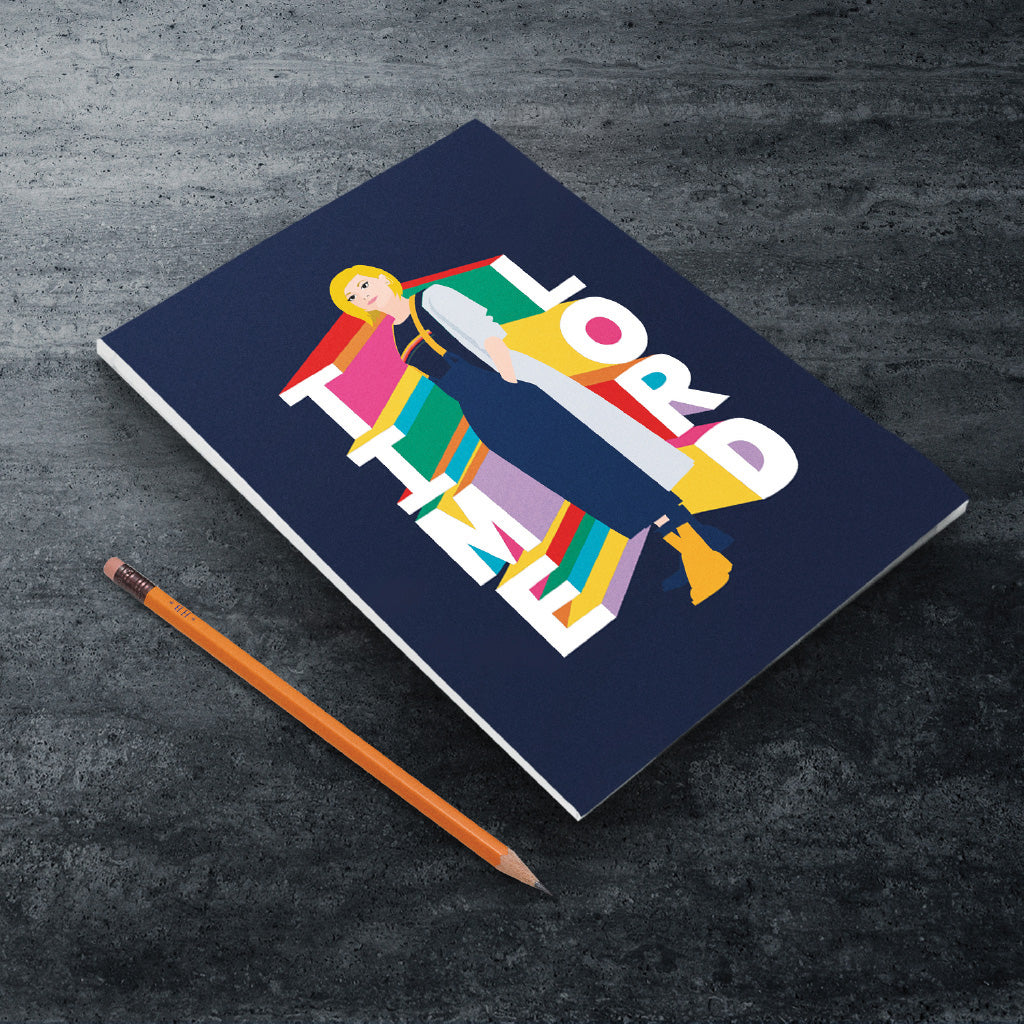 Thirteenth Doctor Time Lord A5 Notepad (Lifestyle)