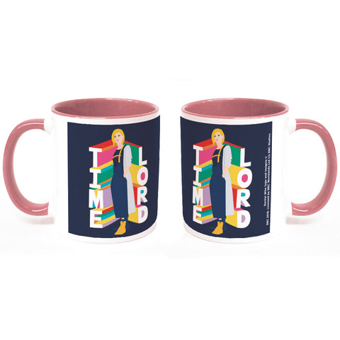 Thirteenth Doctor Time Lord Colour Insert Mug