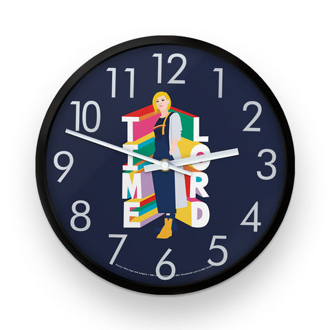 Thirteenth Doctor Time Lord Clock