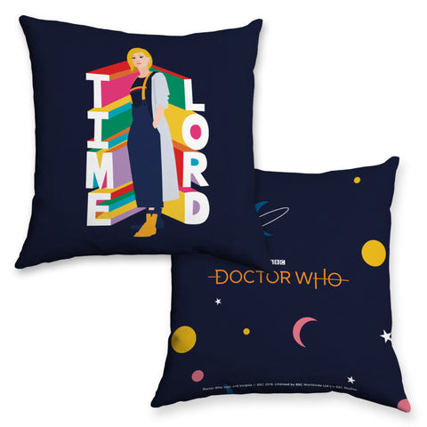 Thirteenth Doctor Time Lord Cushion