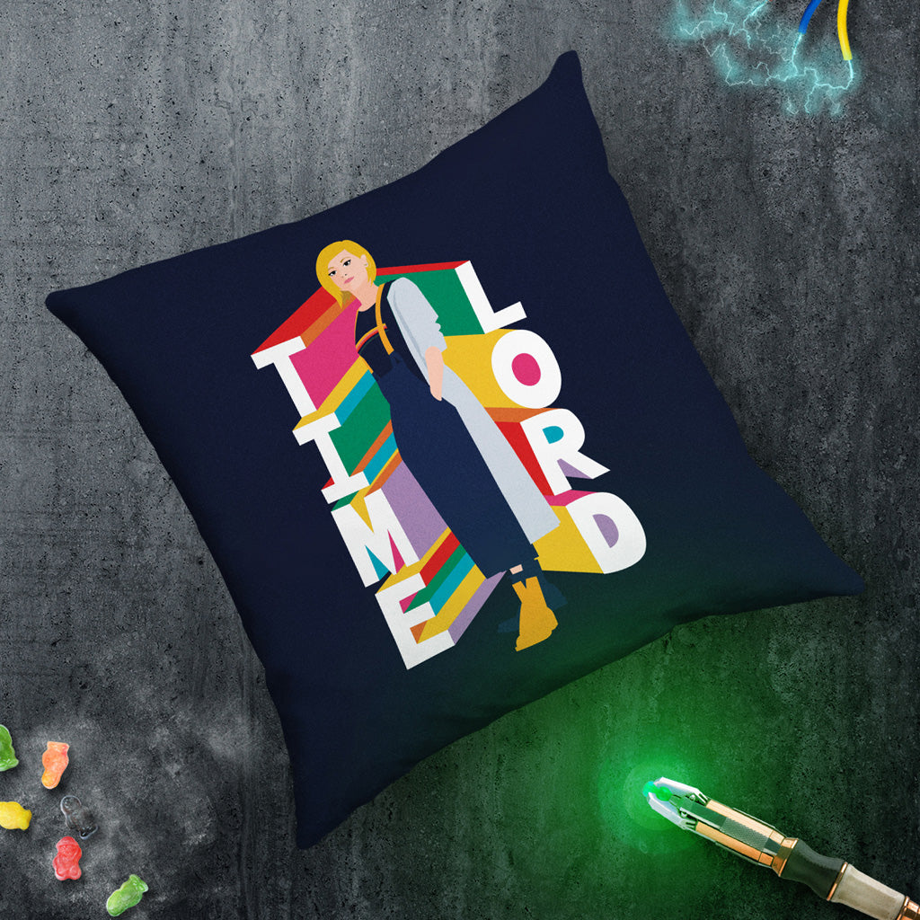 Thirteenth Doctor Time Lord Cushion (Lifestyle)