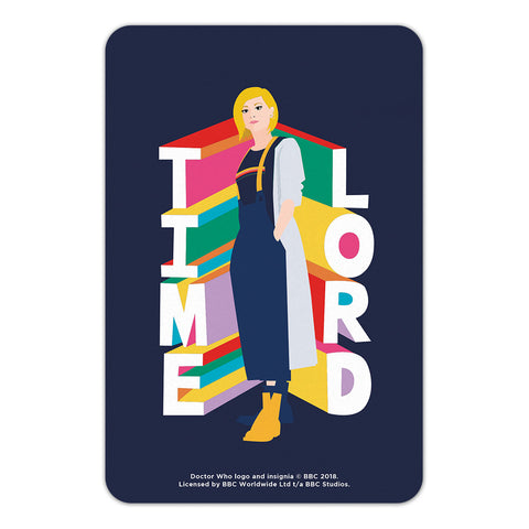 Thirteenth Doctor Time Lord Door Plaque