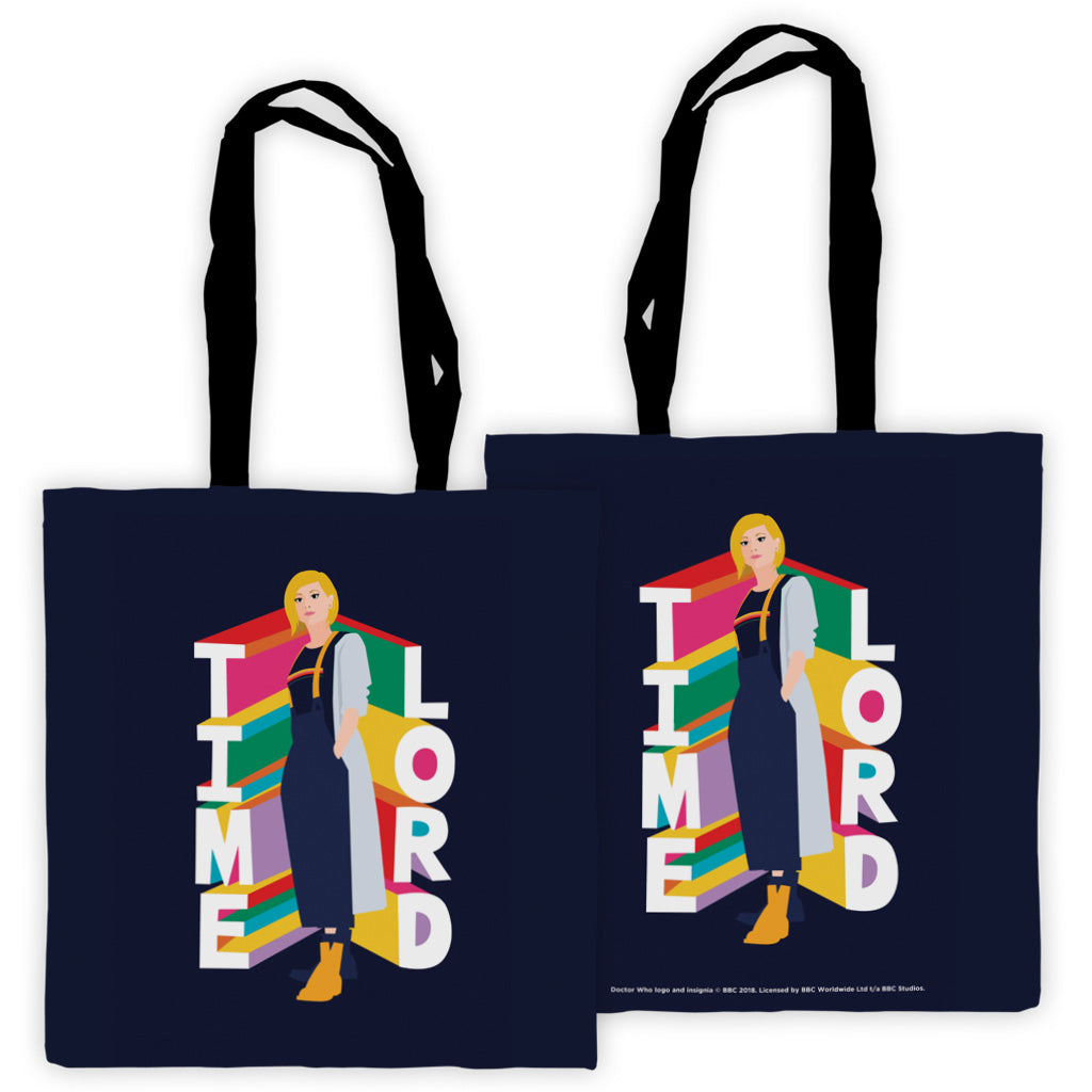 Thirteenth Doctor Time Lord Edge to Edge Tote