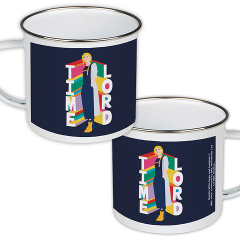 Thirteenth Doctor Time Lord Enamel Mug