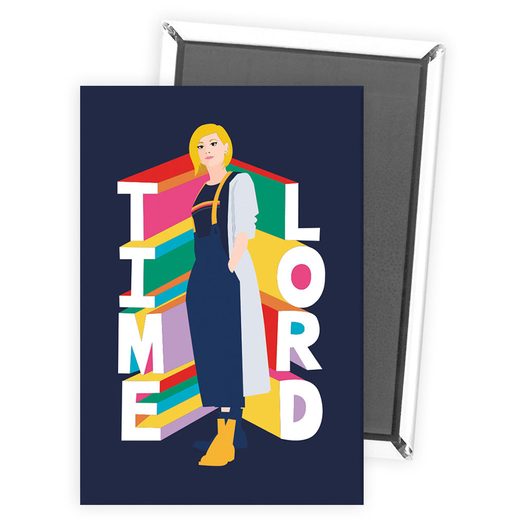 Thirteenth Doctor Time Lord Magnet