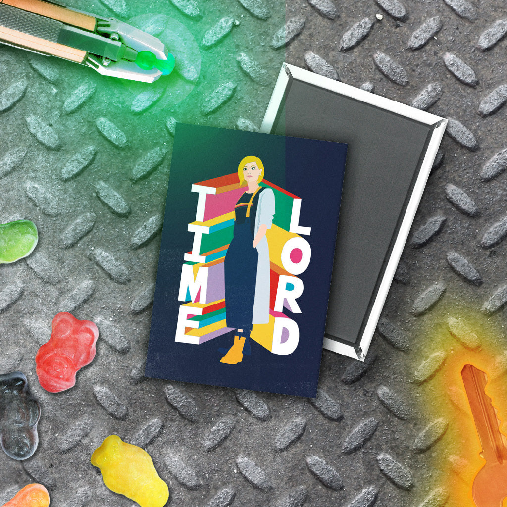Thirteenth Doctor Time Lord Magnet (Lifestyle)