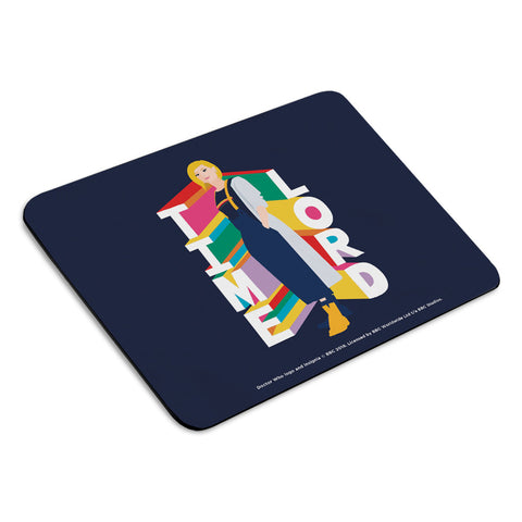 Thirteenth Doctor Time Lord Mousemat