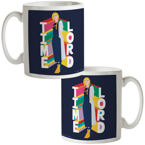 Thirteenth Doctor Time Lord Mug