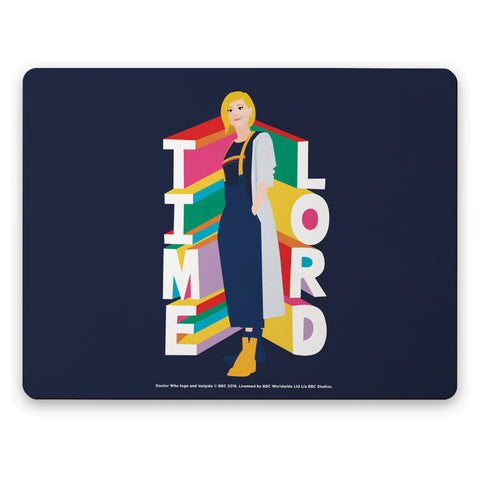 Thirteenth Doctor Time Lord Placemat