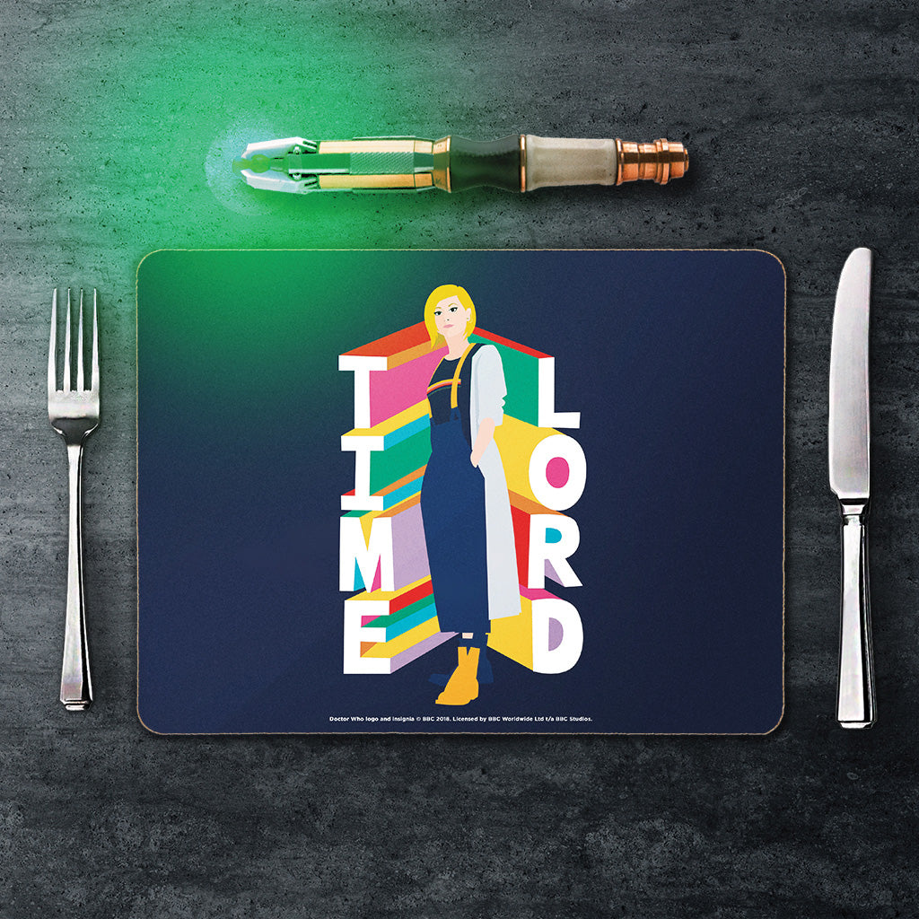 Thirteenth Doctor Time Lord Placemat (Lifestyle)