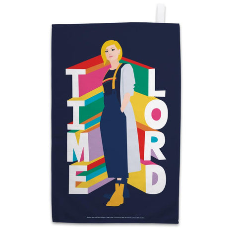 Thirteenth Doctor Time Lord Tea Towel