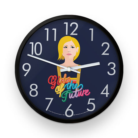 Thirteenth Doctor Girls Clock