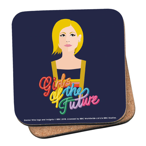 Thirteenth Doctor Girls Coaster