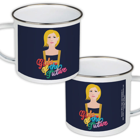 Thirteenth Doctor Girls Enamel Mug