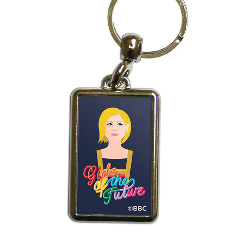 Thirteenth Doctor Girls Metal Keyring