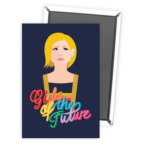 Thirteenth Doctor Girls Magnet