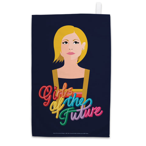 Thirteenth Doctor Girls Tea Towel