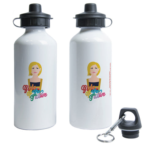 Thirteenth Doctor Girls Water Bottle