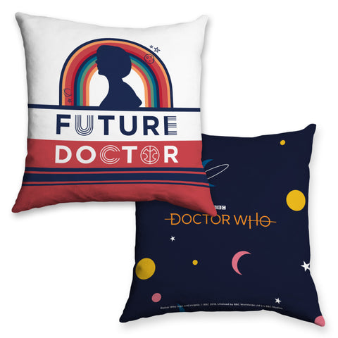 Thirteenth Doctor Future Cushion