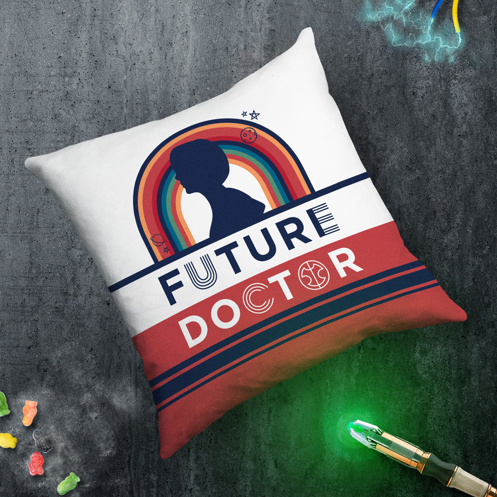 Thirteenth Doctor Future Cushion (Lifestyle)
