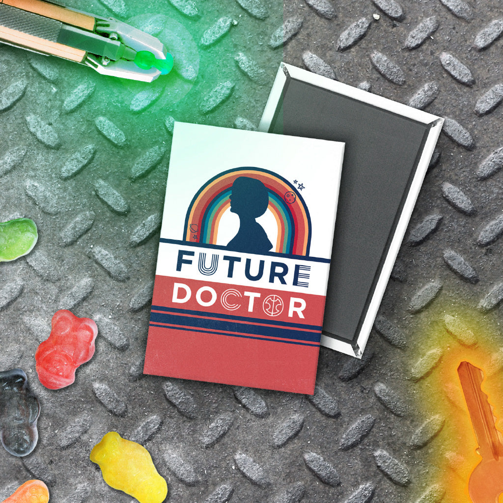 Thirteenth Doctor Future Magnet (Lifestyle)