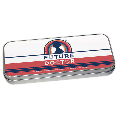 Thirteenth Doctor Future Pencil Tin