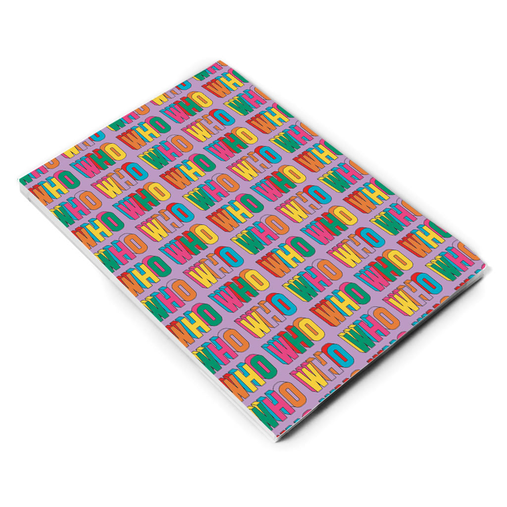 Thirteenth Doctor Pattern Who A5 Notepad