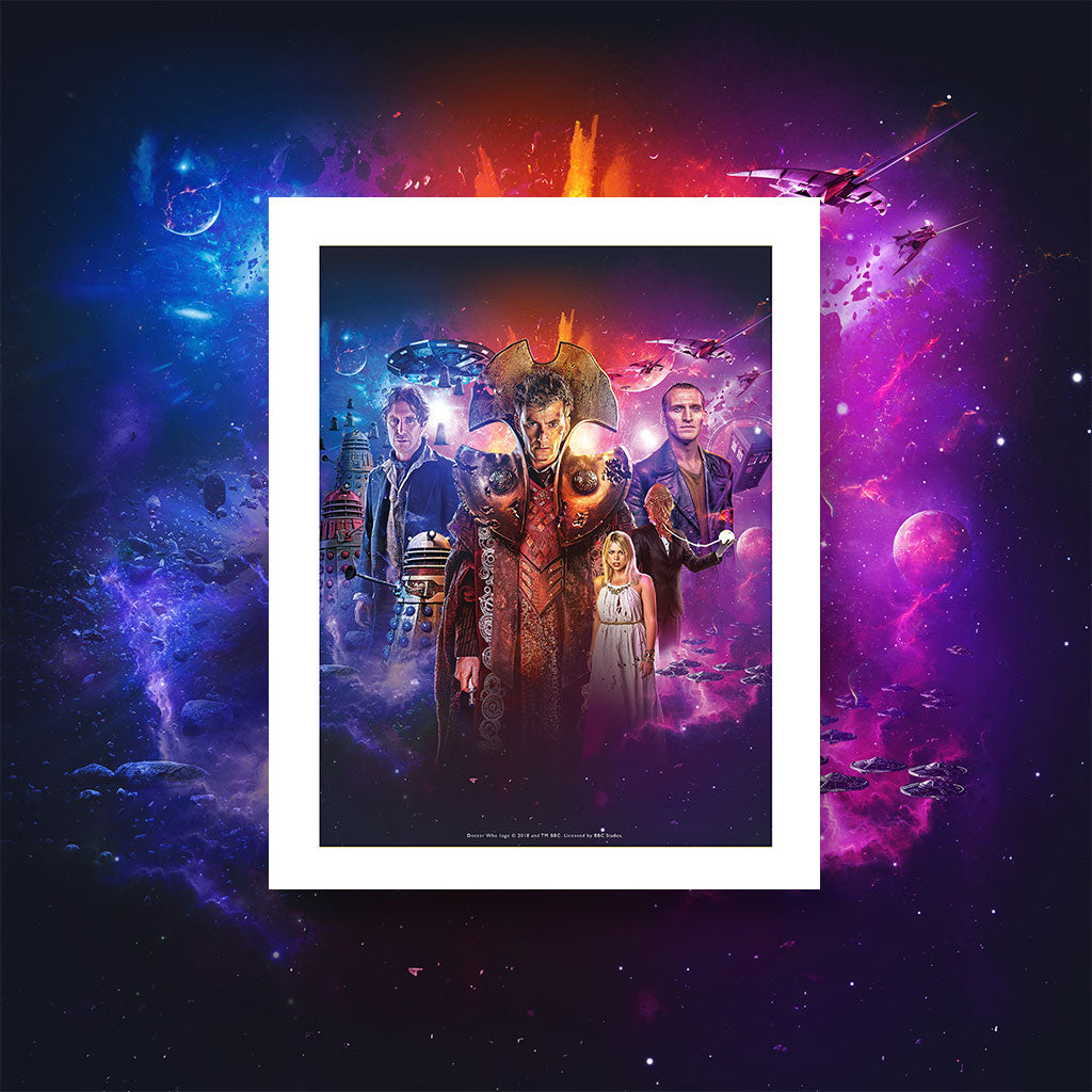 Time Lord Victorious Art Print