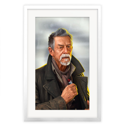 Limited Edition War Doctor Portrait