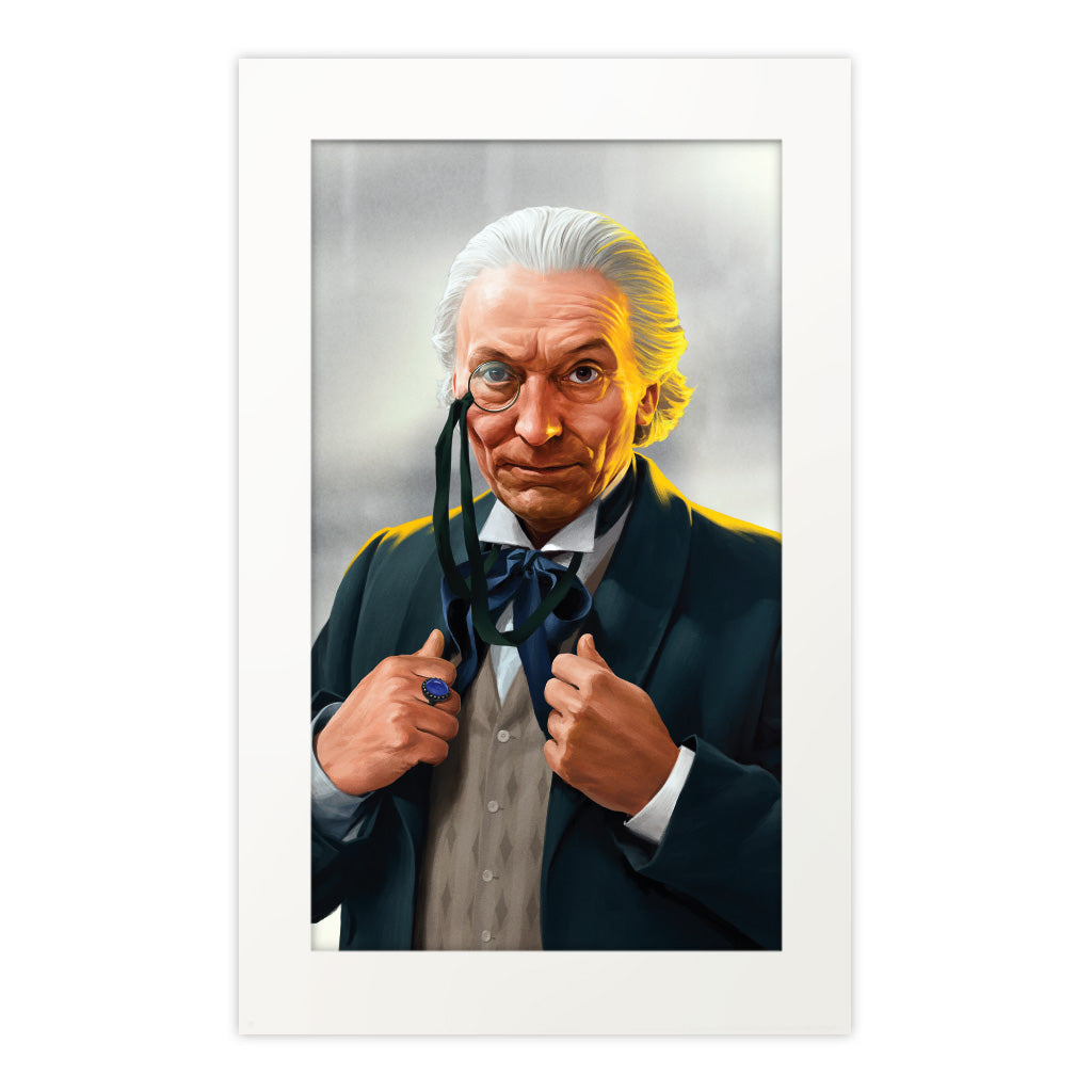 Limited Edition First Doctor Portrait