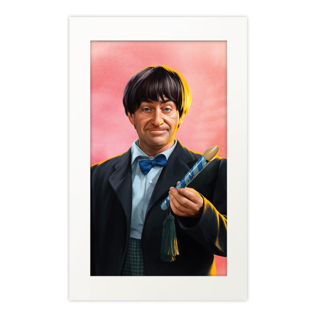 Limited Edition Second Doctor Portrait