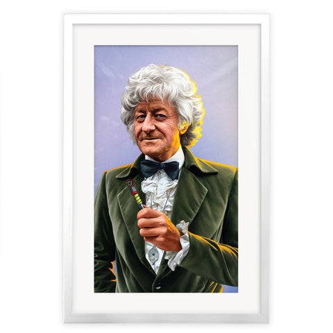 Limited Edition Third Doctor Portrait