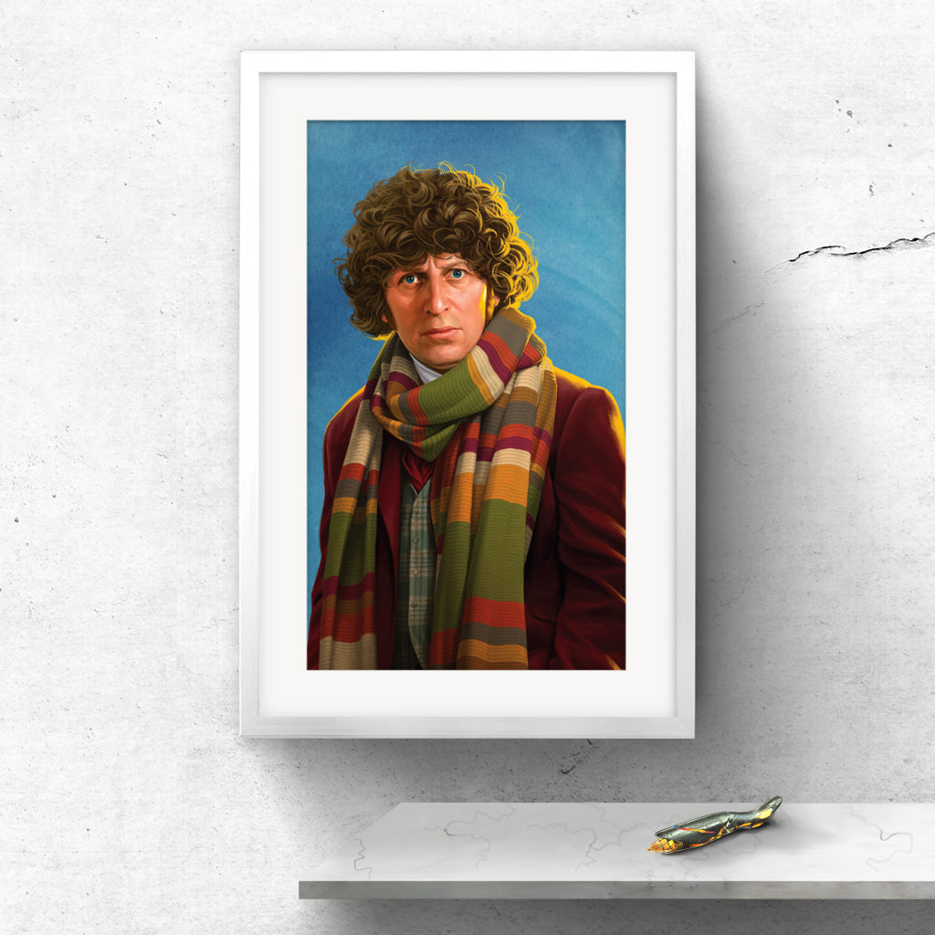 Limited Edition Fourth Doctor Portrait