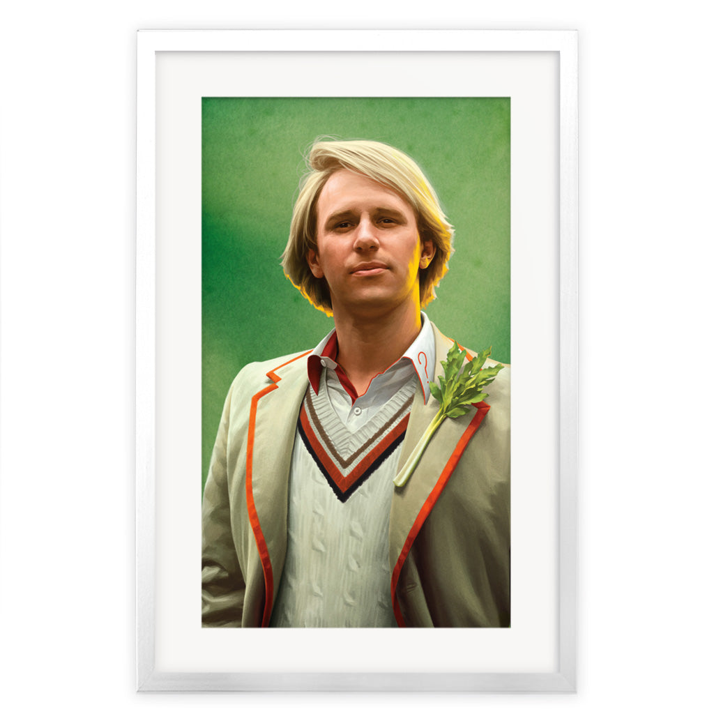 Limited Edition Fifth Doctor Portrait