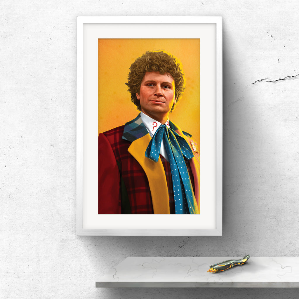 Limited Edition Sixth Doctor Portrait