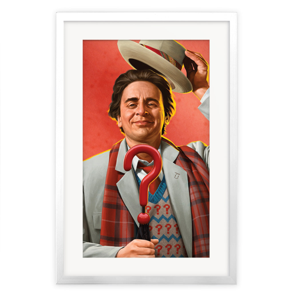 Limited Edition Seventh Doctor Portrait