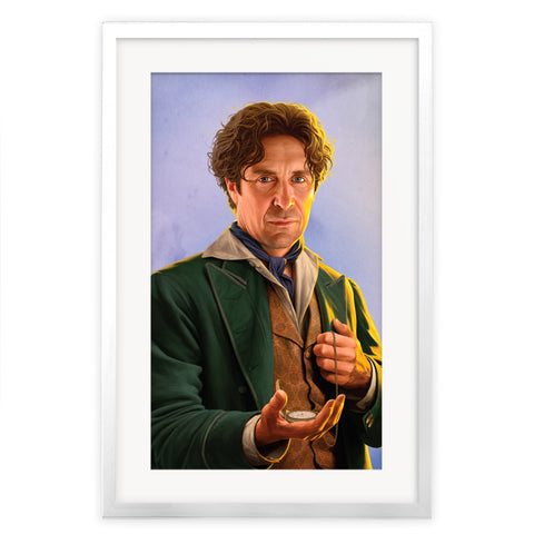 Limited Edition Eighth Doctor Portrait